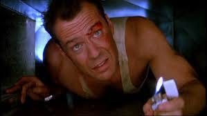 John McClane, crawling through some ducting, wishing he still used nibs